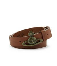 Vivienne Westwood Orb Buckle Belt 82010005 Tan