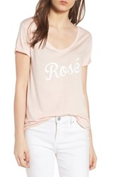 South Parade Valerie Rose Tee Pink