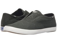 Keds Champion Chillax Washed Twill Dark Green Men's Slip On Shoes