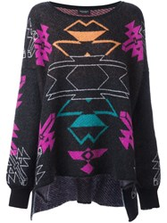 Marcelo Burlon County Of Milan 'Gaea' Jumper Black