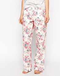 Cath Kidston Daisy Bouquet Long Pj Bottom Daisybouquetwhite