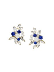 Shourouk Crystal Earrings White