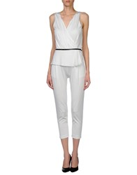 Atos Lombardini Dungarees Trouser Dungarees Women White