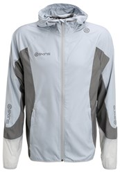 Skins Gravity Sports Jacket Aluminium Pewter Grey