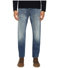Vince Selvedge Straight Fit Denim Mcguinness Blue
