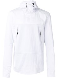 The North Face 'Montain Light' Shirt Jacket Men Polyamide Polyester M White