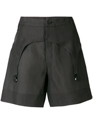 Lost And Found Rooms Garter Shorts Black