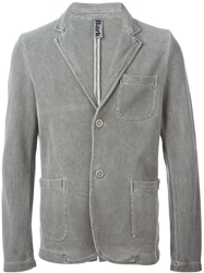 Bark Textured Blazer Grey