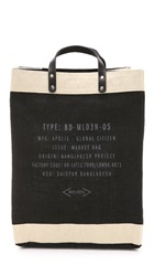 Apolis Market Bag Black