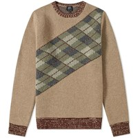 A.P.C. Quartermaster Crew Knit Brown