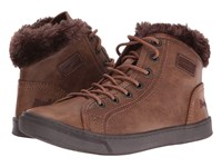 Blowfish Perl Shearling Whiskey Old Ranger Pu Women's Lace Up Casual Shoes Brown