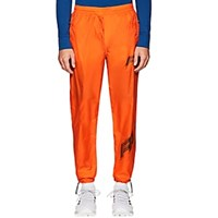Filling Pieces Logo Tech Poplin Jogger Pants Orange