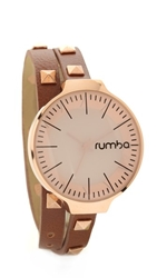 Rumbatime Orchard Double Wrap Watch Hazelnut