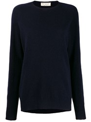 Ma'ry'ya Loose Fit Jumper Blue