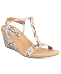 Styleandco. Style Co. Mulan Wedge Sandals Only At Macy's Women's Shoes Linen