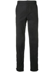 Lanvin Straight Leg Trousers Black