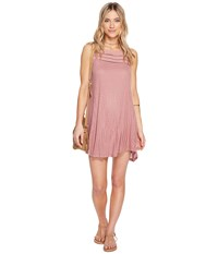 O'neill Maja Tank Dress Dusty Rose Women's Dress Pink