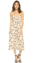 Cameo Power Trip Jumpsuit Geo Beige