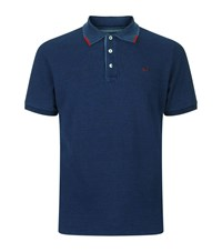 Jacob Cohen Embroidered Logo Polo Shirt Male Navy