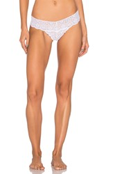 Commando Tulip Tanga Thong White
