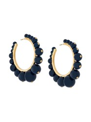 Aurelie Bidermann Ana Earrings Blue