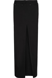 Acne Studios Drift Cotton Drill Maxi Skirt Black