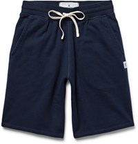 Reigning Champ Loopback Cotton Jersey Drawstring Shorts Midnight Blue