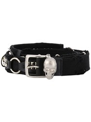 Philipp Plein Double Layered Belt Black