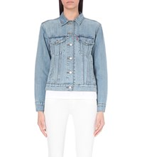 Levi's Boyfriend Trucker Denim Jacket Dream Of Life