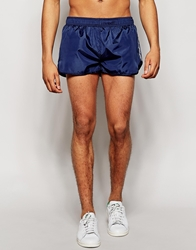 Ellesse Retro Mini Shorts With Side Taping Navy