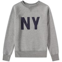 Ebbets Field Flannels New York Gothams Sweat Grey