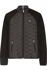 Ariat Cloud 9 Quilted Shell And Stretch Jersey Jacket Dark Gray