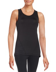 Y.A.S Carly Racerback Top Black