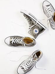 Converse Metallic Hi Top Chucks By