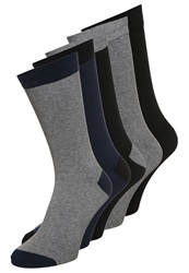 Your Turn 5Pack Socks Grey