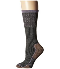 Carhartt Force Copper Work Crew Socks 1 Pair Pack Charcoal Heather Women's Crew Cut Socks Shoes Gray