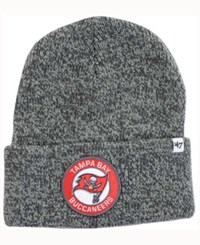 47 Brand '47 Tampa Bay Buccaneers Ice Chip Knit Hat Heather Brown