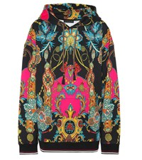 Etro Printed Cotton Hoodie Multicoloured