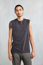 Feathers Muscle Tee Washed Black