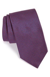Men's Eton Dot Silk Tie