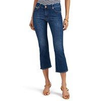Care Label Cigar Bell Crop Jeans Blue