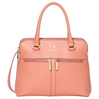 Modalu Pippa Small Leather Grab Bag Rose Pink