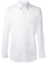 Givenchy Star Collar Tip Shirt White