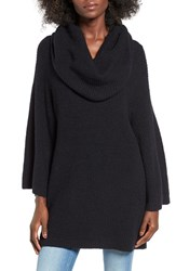 Sun And Shadow Women's Cowl Neck Tunic