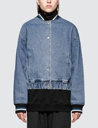 Msgm Giubbino Denim Jacket