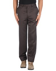 Canali Trousers Casual Trousers Men Dark Brown