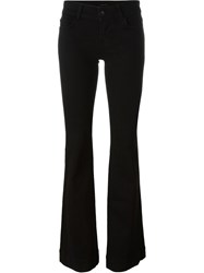 J Brand Flared Trousers Black