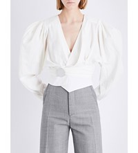 Jacquemus Le Haut Cotton Top Ecru
