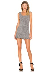 Nbd X Revolve There's Time Ribbed Dress Gray