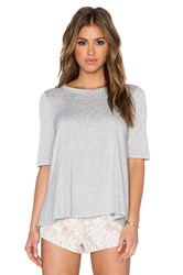 Bcbgeneration Open Back Top Gray